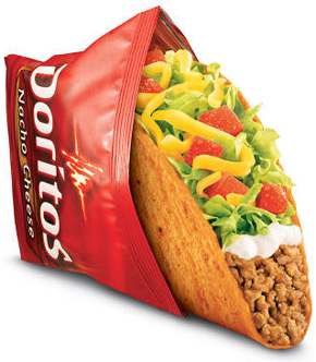 a picture of a taco